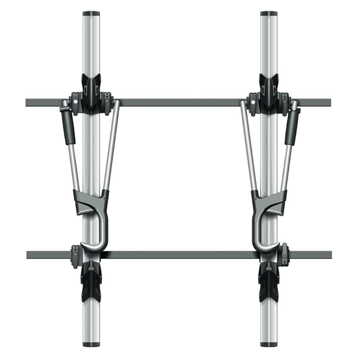 2x atera giro af bike rack roof bars bike mount 082227. Black Bedroom Furniture Sets. Home Design Ideas