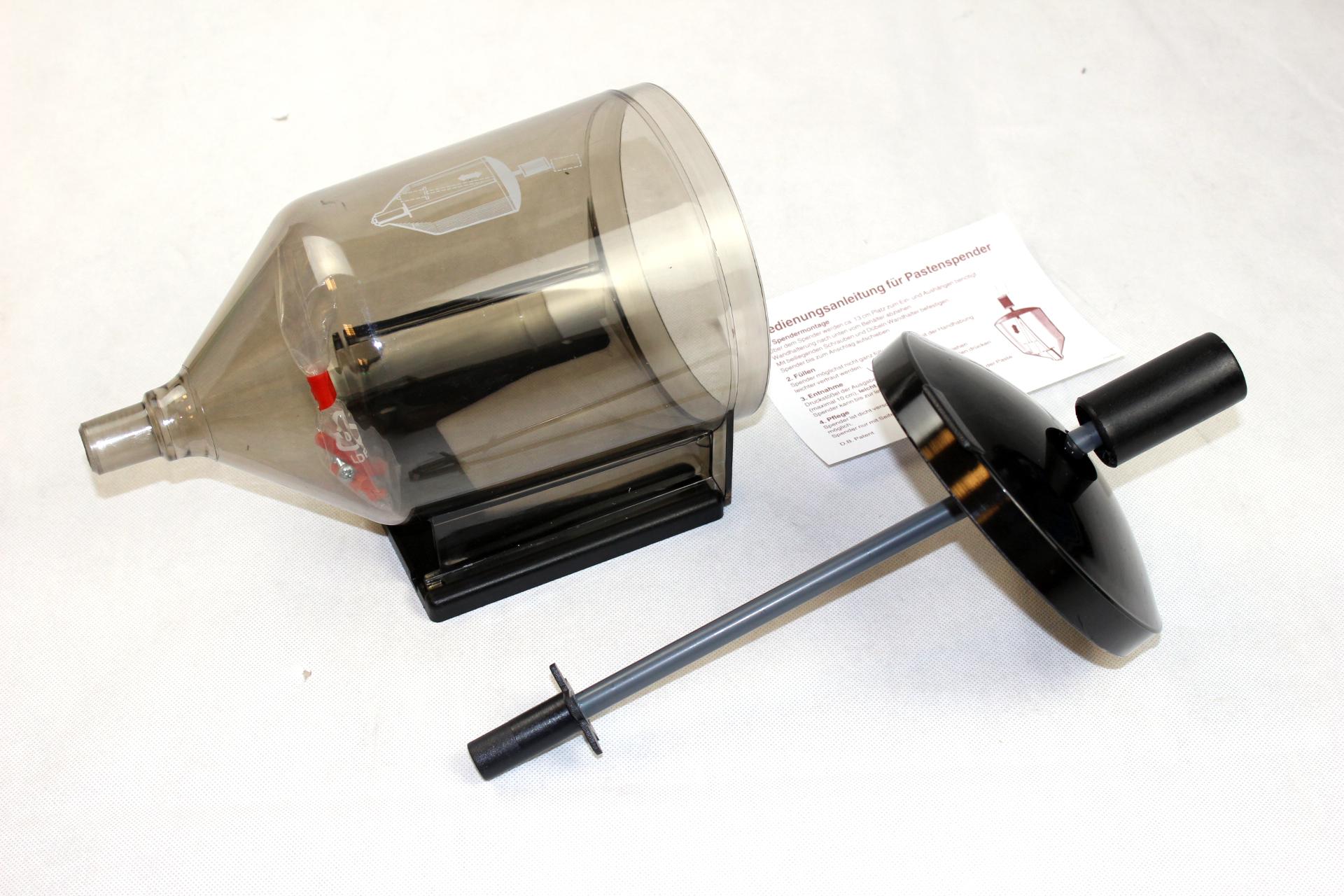 Spender Pastenspender für Handwaschpaste Holzmehl weiche Sandpasten 2,5l Volumen